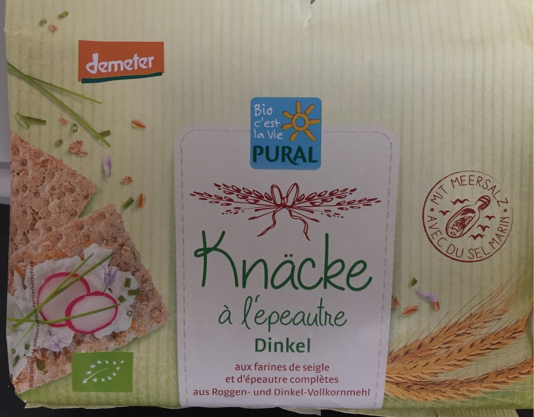 Knäcke à l'Épeautre - Product - fr