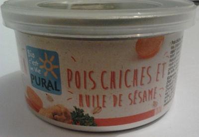 Pois chiches et huile de sésame - Produit