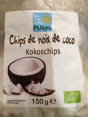 Chips De Noix De Coco Bio - 150 G - Pural - Product
