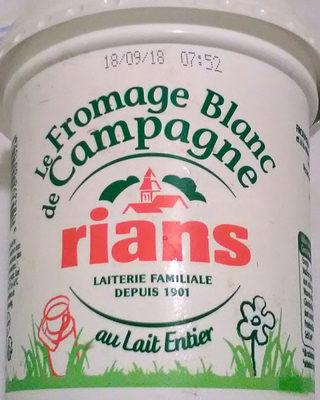 500G Fromage Frais 7% Rians - نتاج - fr