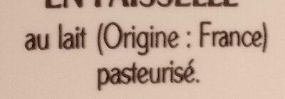 La Faisselle - Ingredients - fr