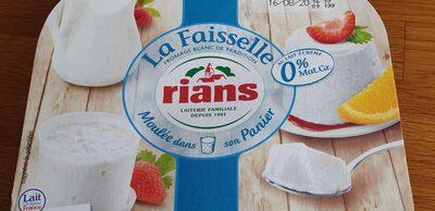 La faisselle 0% - Produit - fr