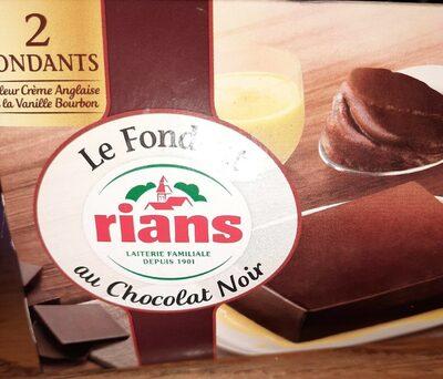 Le fondant au chocolat noir - Produit - fr