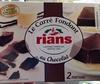 Le carré fondant au chocolat - Product