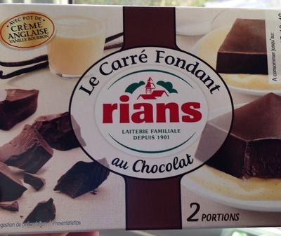 Le carré fondant au chocolat - Produit