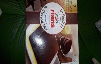 Le fondant au chocolat noir - Produto - fr