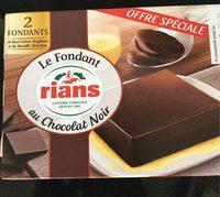 Le fondant au chocolat noir - Product - fr
