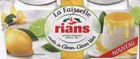 La Faisselle Coulis de Citron-Citron Vert - Product