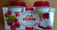La Faisselle et son coulis de Framboises - Product