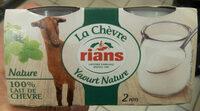 Le Yaourt au lait de Chèvre (Nature) - (5 % MG) - Produit