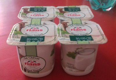 Le yaourt au lait de chèvre - douceur nature - Product