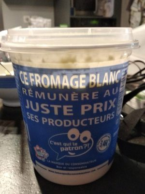 Fromage blanc - Produit