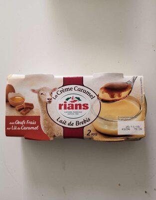 Crème Caramel au lait de brebis - Product