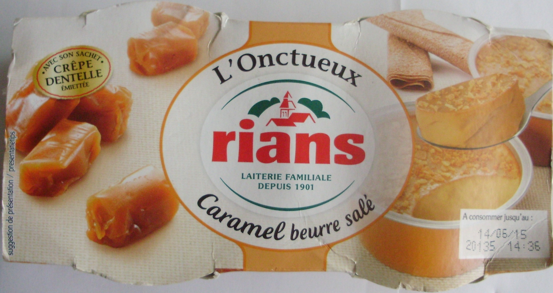 L'onctueux Caramel beurre salé - Produit
