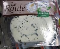 Le roulé - Spécialité fromagère ail et fines herbes au lait pasteurisé - Produit - fr