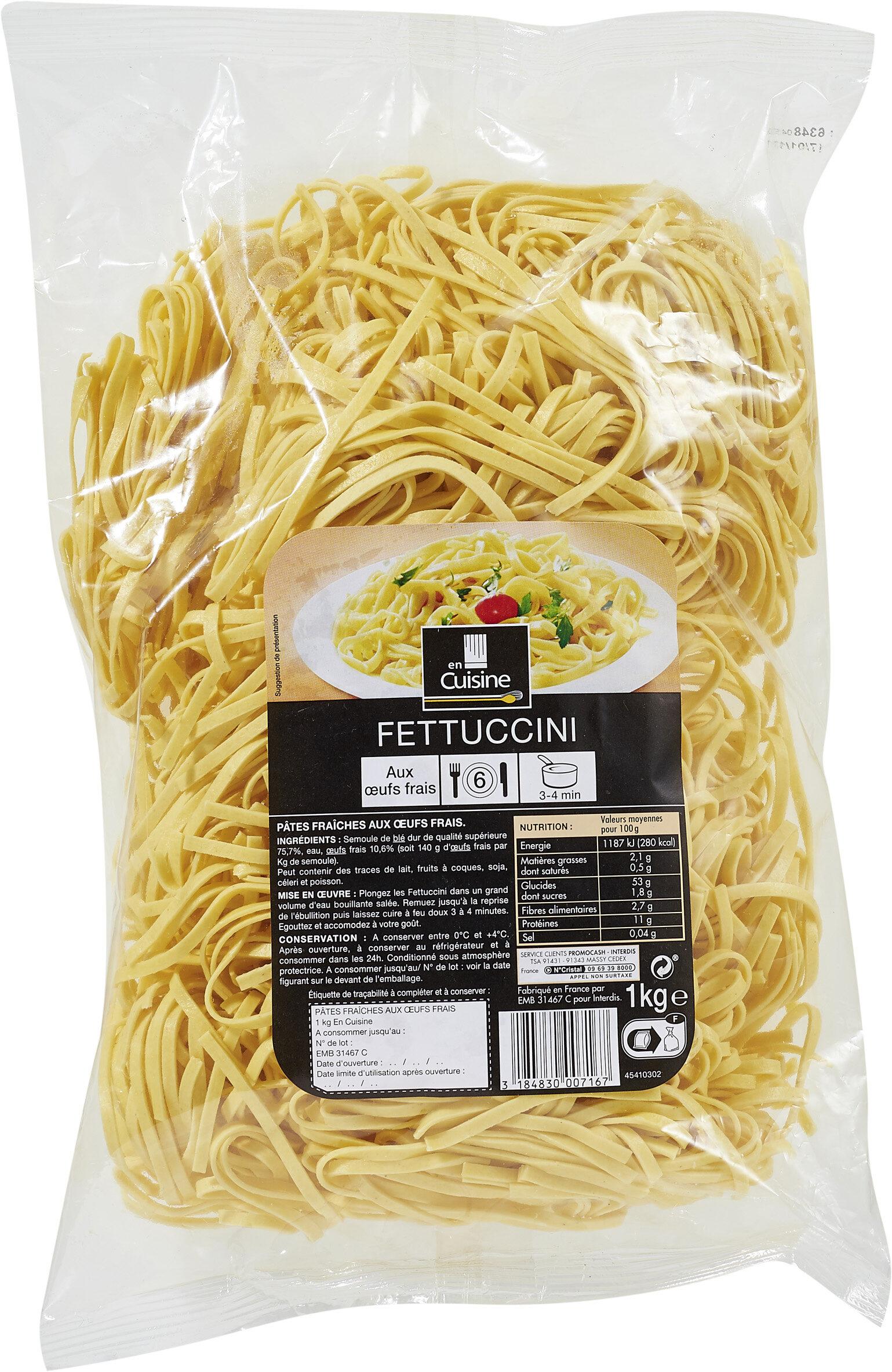 Fettuccini - Prodotto - fr