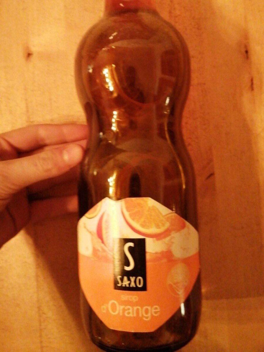 1L Sirop Orange Saxo - Prodotto - fr