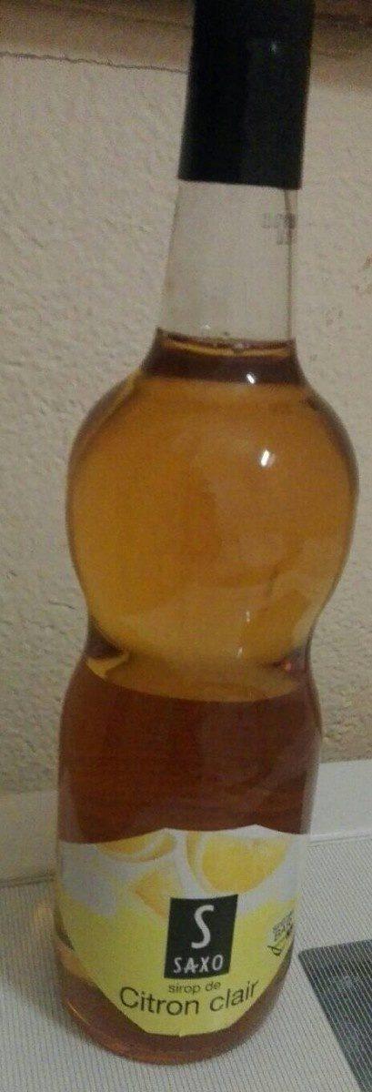 Sirop de Citron clair - Product - fr