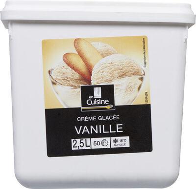 2.5L Creme Glacee Vanille En Cuisine - Produit - fr