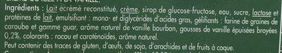 2.5L Creme Glacee Vanille En Cuisine - Ingrédients - fr