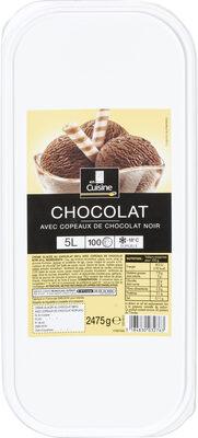 Crème glacée chocolat - Produit - fr