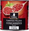 Tomates pelées concassées - Product