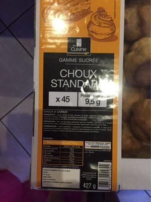 Choux Standard - Produit