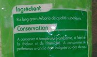 Riz Arborio QS En Cuisine - Ingrédients - fr