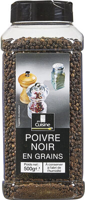 500G Poivre Noir Grain En Cuisine - Produit - fr
