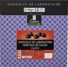 Chocolat de laboratoire noir 50% de cacao palets - Produit
