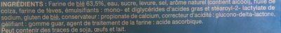 Pain De Mie Nature - Ingrediënten - fr