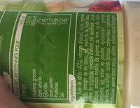 Sauce Crudité Nature - Ingrédients