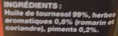 Spéciale Pizza Pimentée - Ingredienti - fr