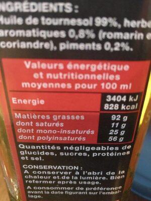 Spéciale Pizza Pimentée - Valori nutrizionali - fr