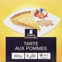 Tarte aux pommes cuite surgelée - Prodotto - fr