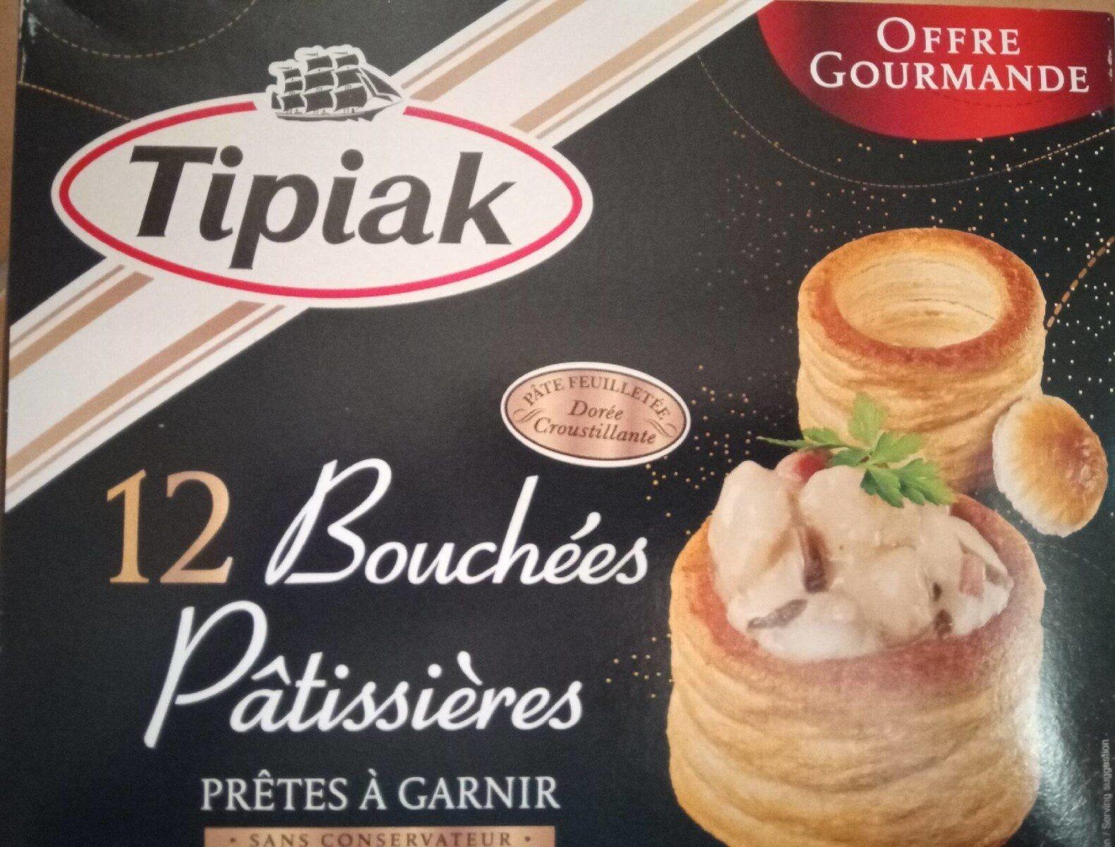 12 bouchées pâtissières - Produit