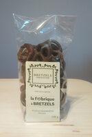 Sachet bretzels au chocolat noir - Produit - fr