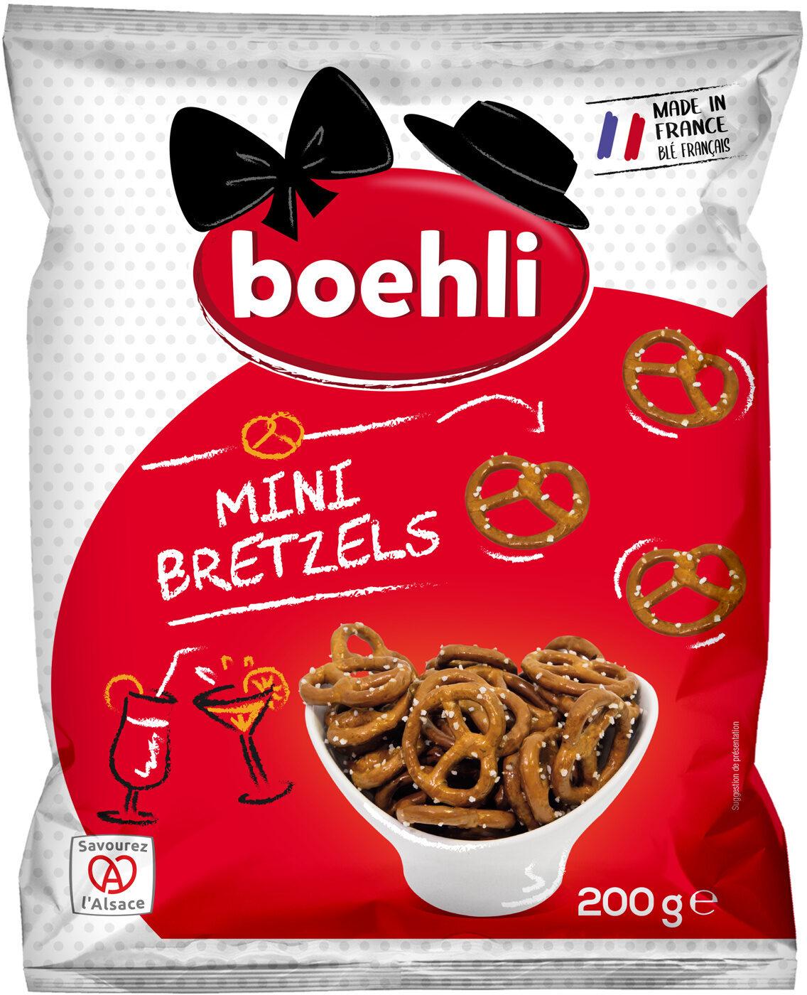 Sachet Mini Bretzels - Produit - fr
