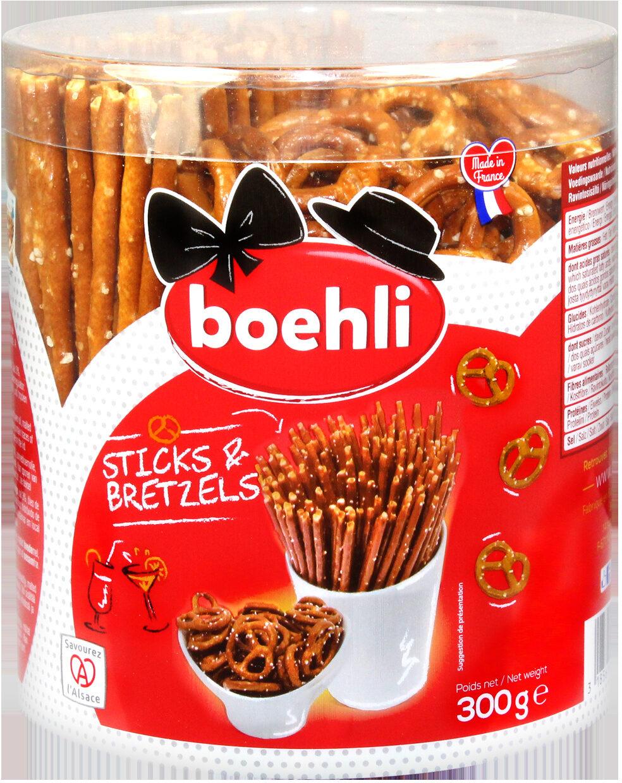 Tubo sticks/bretzels - Produit - fr