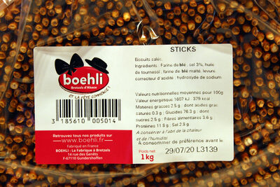 Sachet vrac sticks - 4