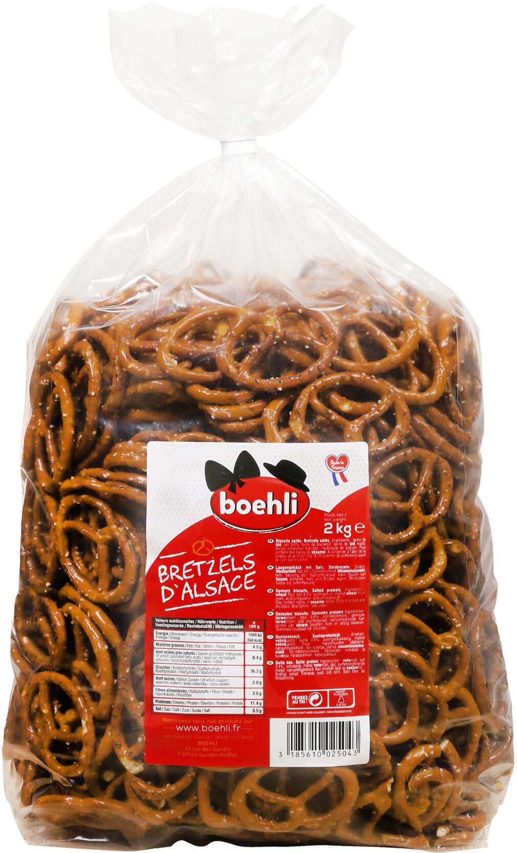 Sac bretzels moyennes - Product - fr