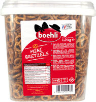 Seau mini bretzels - Produit - fr