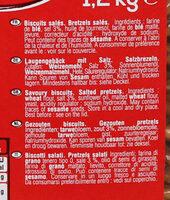 Seau mini bretzels - Ingrédients