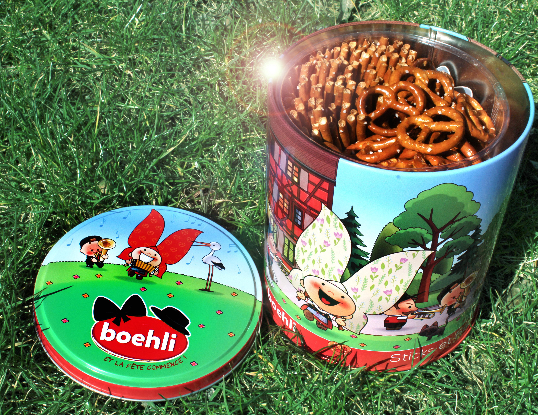 Boîte collector avec tubo sticks/bretzels - printemps - Produit - fr