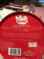 Boîte collector avec tubo sticks/bretzels - printemps - Ingrédients - fr