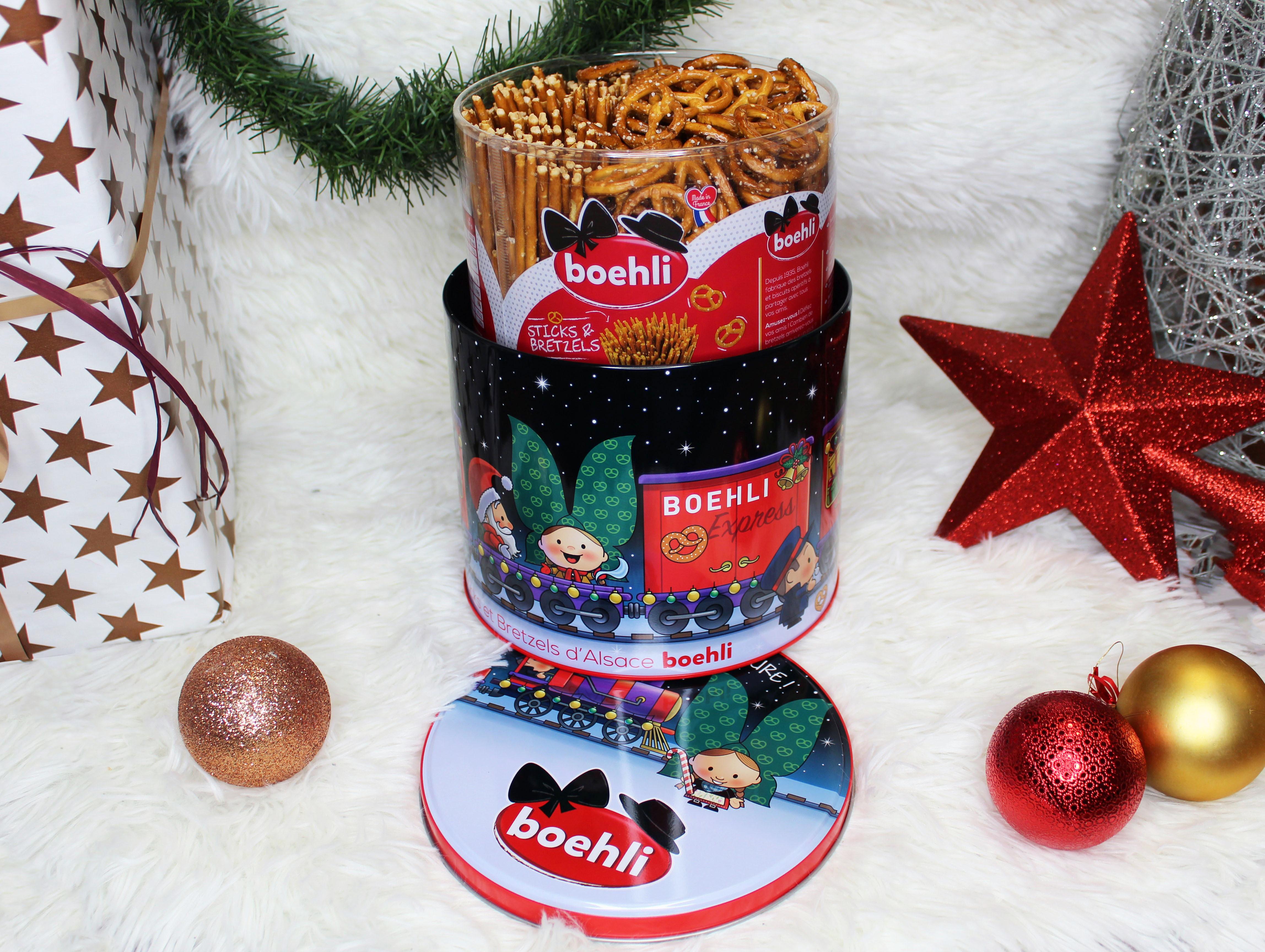 Boîte collector avec tubo sticks/bretzels - hiver - Produit - fr