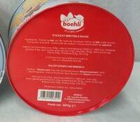 Boîte collector avec tubo sticks/bretzels - hiver - Ingrédients - fr