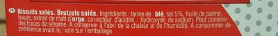 Etui 10 grandes bretzels - Ingrédients - fr