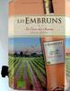 Vin rosé Bio Les Embruns La Croix des Saintes - Product