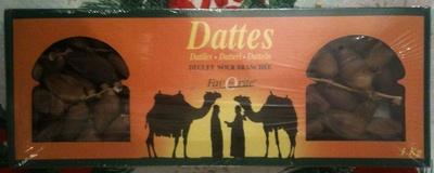 Dattes - Produit